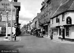 Salisbury, Catherine Street c.1950