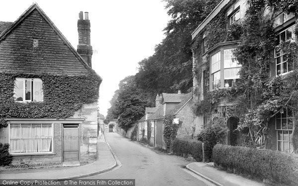 Photo of Salisbury, De Vaux Place 1928