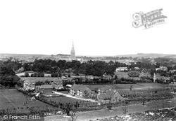 Salisbury, From Harnham 1906