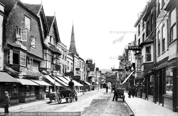 Photo of Salisbury, High Street 1906