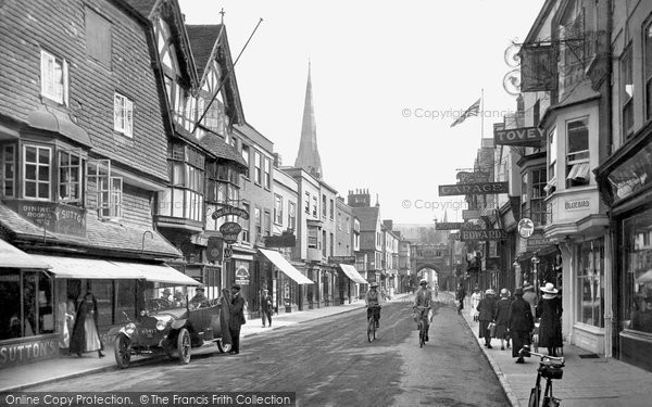 Photo of Salisbury, High Street 1919
