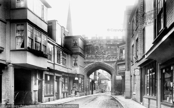 Photo of Salisbury, High Street Gate 1894