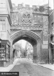 Salisbury, High Street Gate 1906