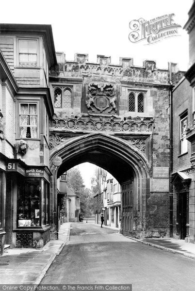 Photo of Salisbury, High Street Gate 1913, ref. 65307