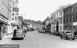 Salisbury, Milford Street c.1950