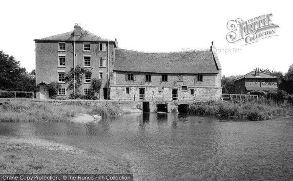 Salisbury,Old Mill and Hotel c1955,Wiltshire