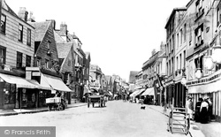 Salisbury, Silver Street 1906