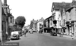Salisbury, St John Street c.1950
