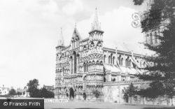 Salisbury, The Cathedral c.1955