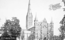 Salisbury, The Cathedral, North West 1887