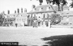 Salisbury, The Close c.1955