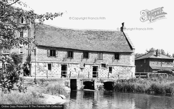Salisbury,the Old Mill c1955,Wiltshire