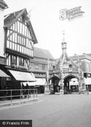 Salisbury, The Poultry Cross c.1955