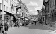 Salisbury, Winchester Street c1950