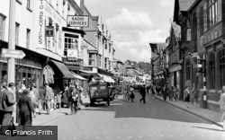 Salisbury, Winchester Street c.1950