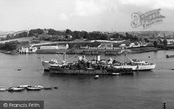 Saltash, Bull Point c.1955