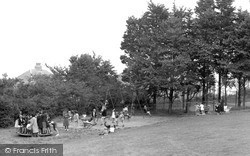 Saltash, Children's Corner, The Park c.1955