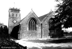 Saltash, Church Of St Nicholas And St Faith 1890