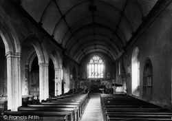 Saltash, Church Of St Nicholas And St Faith, Interior 1890