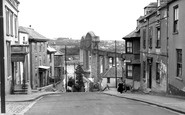 Saltash, Fore Street and the Bridge c1955