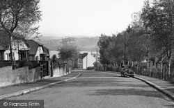 Saltash, Glebe Avenue c.1955