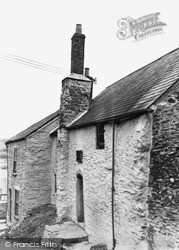 Saltash, Mary Newman's Cottage c.1955