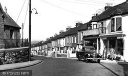 Saltash, North Road 1953