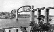 Saltash, Royal Albert Bridge 1904
