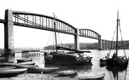 Photo of Royal Albert Bridge 1890, Saltash