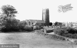 Saltash, St Stephen's-By-Saltash Church c.1965