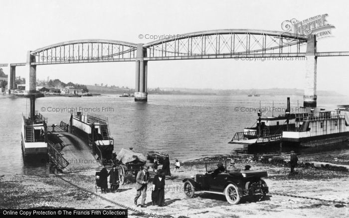 Saltash, the Ferry 1924