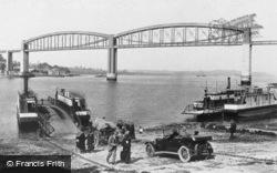 The Ferry And Royal Albert Bridge 1924, Saltash