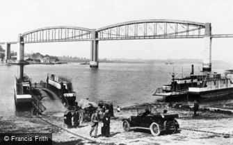 Saltash, the Ferry and Royal Albert Bridge 1924