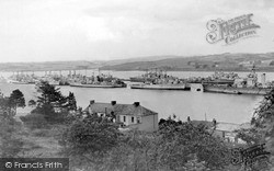 Saltash, The River Tamar c.1955