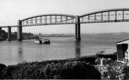 Saltash, The River Tamar c.1955