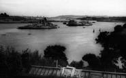 Saltash, The River Tamar c.1965