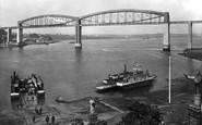 Saltash, The Royal Albert Bridge 1924