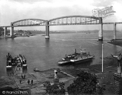 Saltash, The Royal Albert Bridge 1924