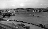 Saltash, The Royal Albert Bridge c.1955
