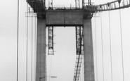 Saltash, the Tamar Bridge c1961