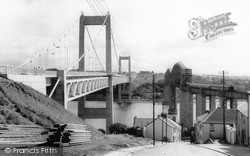 Saltash, The Tamar Bridge c.1965