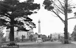 Saltash, The Victoria Gardens c.1955