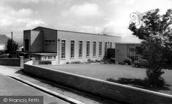 Saltash, The Wesley Methodist Church c.1965