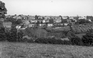 Saltash, View From The South c.1955