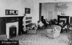 Saltburn-By-The-Sea, Brockley Hall, The Lounge c.1965