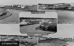 Saltburn-By-The-Sea, Composite, Hazelgrove Caravan Site c.1960