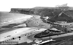 Saltburn-By-The-Sea, From The Cliffs 1938