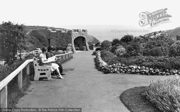 Photo of Saltburn By The Sea, Hazelgrove Gardens And The Grotto 1938