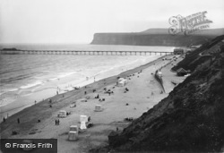 Saltburn-By-The-Sea, Hunt Cliff 1923