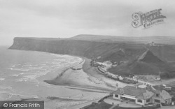 Saltburn-By-The-Sea, Hunt Cliff And Cat Nab 1927